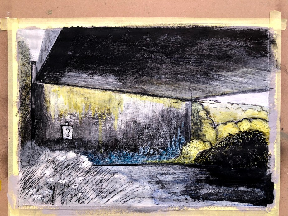 Another outdoor landscape, another block ofconcrete
